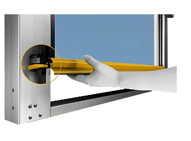 Ripari per macchine industriali I-Shape sistema MecLock
