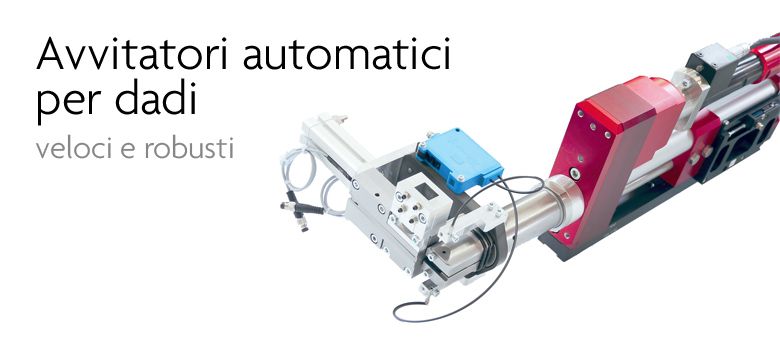 Avvitatori automatici per dadi