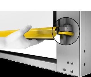 Strasser ripari mobili con sistema di blocco MecLock
