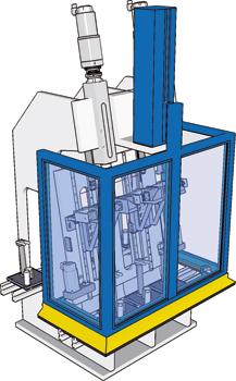 Protezione macchinari U-Shape